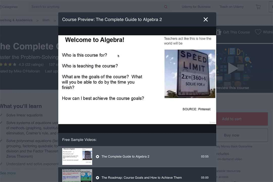 complete guide to algebra ii course curriculum