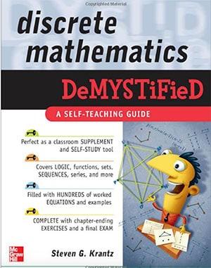 discrete mathematics demystified book cover