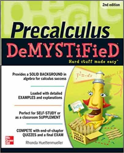 Pre-calculus Demystified, Second Edition 2nd Edition