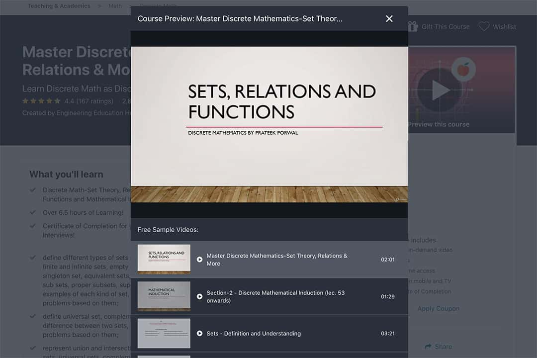 set relations and functions chapter